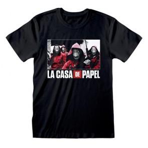 LA CASA DI CARTA - T-SHIRT - PHOTO AND LOGO S