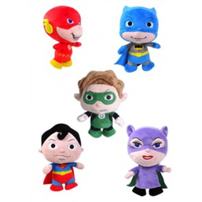 LITTLE MATES PELUCHE 40 CM SET DA 5 PERSONAGGI