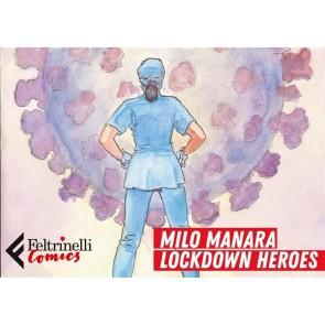 LOCKDOWN HEROES - PORTFOLIO MILO MANARA