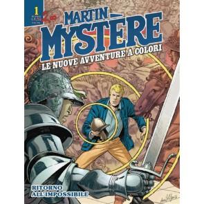 MARTIN MYSTERE - LE NUOVE AVVENTURE A COLORI 1