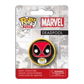 MARVEL COMICS POP! PIN BADGE - DEADPOOL