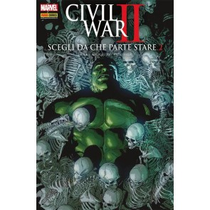 MARVEL CROSSOVER 91 - CIVIL WAR II - SCEGLI DA CHE PARTE STARE 2