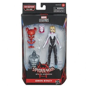 MARVEL LEGENDS - SPIDER-MAN INTO THE SPIDERVERSE - GWEN STACY - ACTION FIGURE 15CM