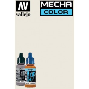MECHA COLOR WHITE GREY 69002