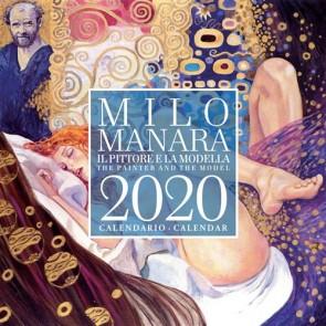 MILO MANARA - IL PITTORE E LA MODELLA - CALENDARIO 2020