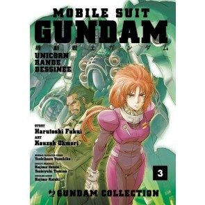 MOBILE SUITE GUNDAM UNICORN - BANDE DESSINEE 3
