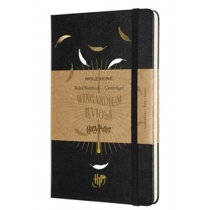 MOLESKINE LIMITED EDITION - NOTEBOOK HARRY POTTER LARGE RULED LEVIOSA