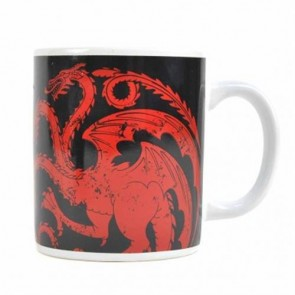 MUGBGT03 - GAME OF THRONES - MUG BOXED (350ML) - GAME OF THRONES (TARGARYEN)