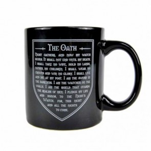 MUGBGT04 - GAME OF THRONES - MUG BOXED (350ML) - GAME OF THRONES (NIGHTS WATCH)