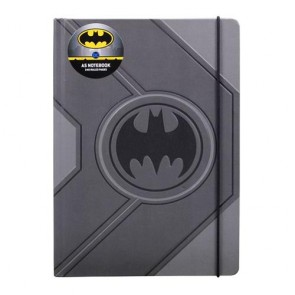NBA5BM01 - DC COMICS - A5 NOTEBOOK - BATMAN (BLACK LOGO)
