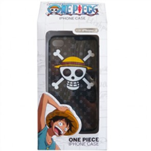 ONE PIECE - COVER IPHONE 4-4S LUFFY PIRATES SMARTPHONE CELLULARE