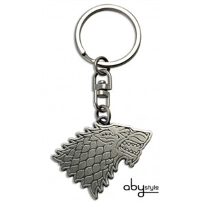 PORTACHIAVI IN METALLO STARK LOGO GAME OF THRONES TRONO DI SPADE HBO