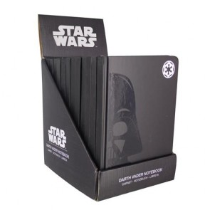 PP3972SW - STAR WARS - DARTH VADER NOTEBOOK CDU OF 12