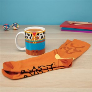 PP4807TS - TOY STORY - WOODY MUG AND SOCKS