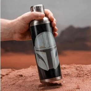 PP7361MAN - STAR WARS: THE MANDALORIAN - METAL WATER BOTTLE