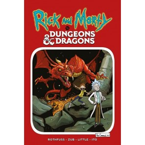 RICK AND MORTY VS DUNGEONS & DRAGONS - PRIMA RISTAMPA