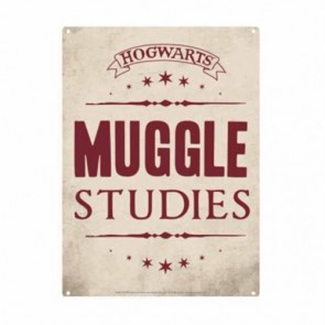SSA5HP13 - HARRY POTTER - TIN SIGN SMALL - HARRY POTTER (MUGGLE STUDIES)