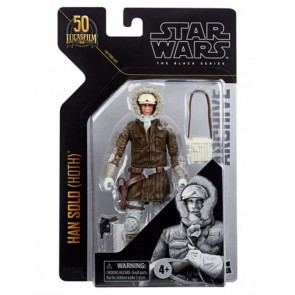 STAR WARS - BLACK SERIES - THE EMPIRE STRIKES BACK - HAN SOLO (HOOTH) - ACTION FIGURE 15CM
