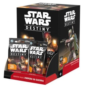 STAR WARS: DESTINY - BOX BOOSTER PACK - IMPERO IN GUERRA