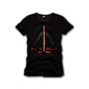 STAR WARS EPISODE VII - T-SHIRT UOMO - KYLO REN FIRST ORDER - L