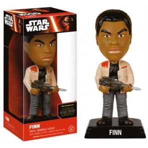 STAR WARS EPISODE VII - WACKY WOBBLER - FINN - BOBBLE HEAD 15CM
