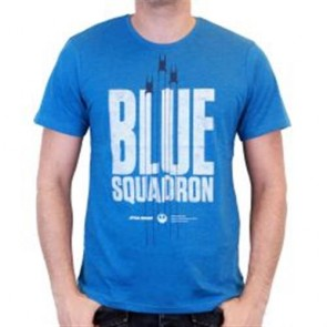 STAR WARS ROGUE ONE -T-SHIRT BLUE SQUADRON S