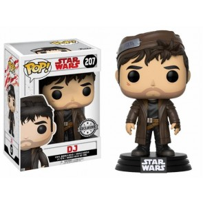 STAR WARS THE LAST JEDI - POP FUNKO VINYL FIGURE 207 DJ 9CM - EXCLUSIVE