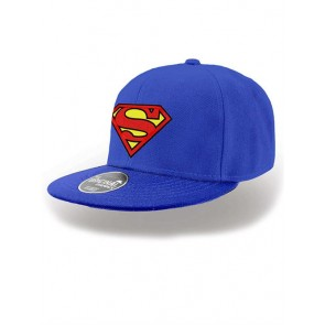 SUPERMAN - CAPPELLINO - LOGO SNAPBACK CAP