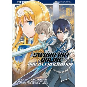 SWORD ART ONLINE - ALICIZATION 4