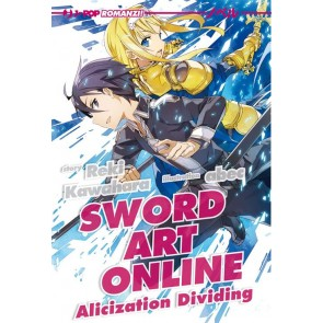 SWORD ART ONLINE - NOVEL ALICIZATION DIVIDING
