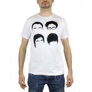 T-SHIRT BIG BANG THEORY FACES M MARCHIO 2BNERD