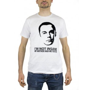 TBBT36 - T-SHIRT NOT INSANE S