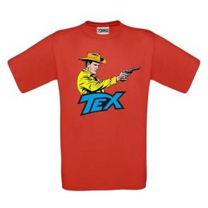 TEX - T-SHIRT - ROSSA TAGLIA L