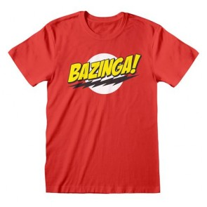 THE BIG BANG THEORY - T-SHIRT - BAZINGA L