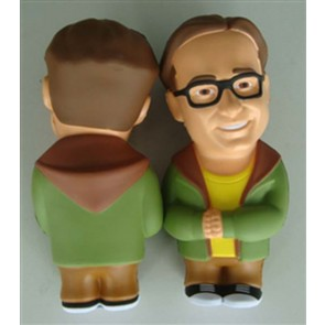 THE BIG BANG THEORY LEONARD STRESSDOLL ANTISTRESS 10 CM