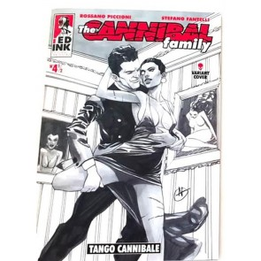 THE CANNIBAL FAMILY 4 1/2 - TANGO CANNIBALE - VARIANT COVER