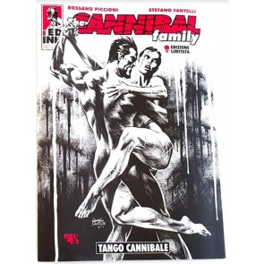 THE CANNIBAL FAMILY 4 1/2 - TANGO CANNIBALE - VARIANT LIMITED NUMERATA