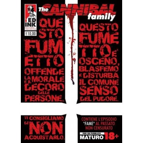 THE CANNIBAL FAMILY 8 - FAME - VARIANT UNCUT EDITIO