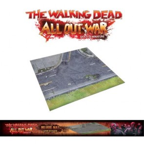 THE WALKING DEAD - ALL OUT WAR - DELUXE MAT