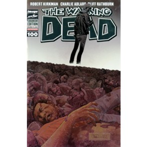 THE WALKING DEAD 100 - CHROMIUM COVER