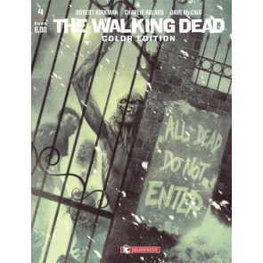 THE WALKING DEAD COLOR EDITION 4 - VARIANT COVER