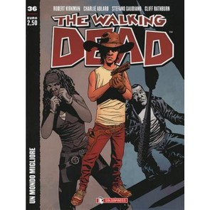 THE WALKING DEAD NEW EDITION 36 - COVER B