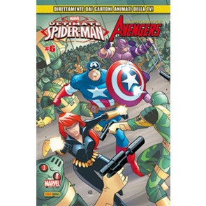 ULTIMATE SPIDER-MAN & GLI AVENGERS 6