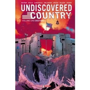 UNDISCOVERED COUNTRY 1 - DESTINO - SLIPCASE LIMITED NUMERATA
