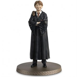 WIZARDING WORLD HARRY POTTER - FIGURE & MAGAZINE - RON WEASLEY (WITH SCABBERS) 10CM