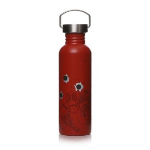 WTRBMV07 - MARVEL - WATER BOTTLE (METAL) - MARVEL (DEADPOOL)