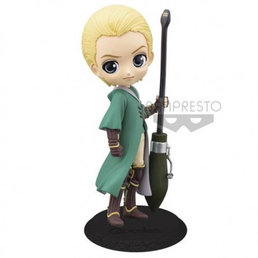 15985 - HARRY POTTER - Q POSKET - DRACO MALFOY QUIDDITCH (VARIANT COLOR VER.) - FIGURE 14CM