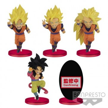 16112 - DRAGON BALL Z - DOKKAN BATTLE 5TH ANNIVERSARY - WORLD COLLECTABLE FIGURE - SET 72PZ 7CM