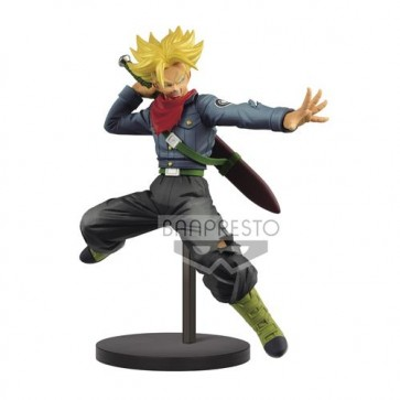 16305 - DRAGONBALL SUPER - CHOSENSHIRETSUDEN II VOL.2 - SUPER SAIYAN TRUNKS - BANPRESTO STATUA 17CM
