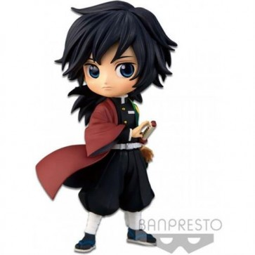 19866 - DEMON SLAYER - Q POSKET PETIT VOL.2 - GIYU TOMIOKA (NORMAL COLOR VER.) - FIGURE 7CM